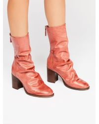 Free People - Elle Block Heel Boot By Fp Collection - Lyst