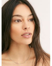 Free People - Little Layer Necklace - Lyst