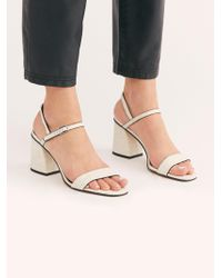 Free People - Liv Block Heel By Fp Collection - Lyst