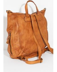 Free People - Beckett Leather Convertible Backpack By Tano - Lyst