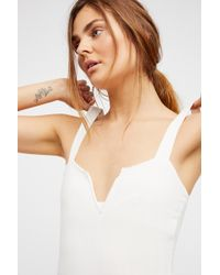 Free People - Pippa V-wire Bodysuit By Intimately - Lyst