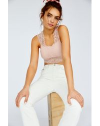 Free People - Chase Me Lace Brami By Intimately - Lyst