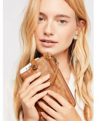 Free People - Leather Iphone Plus Wallet - Lyst