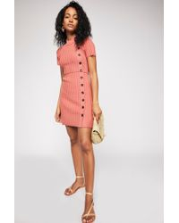5eaf3be8a4a Lyst - Free People For Keeps Tunic Dress in Natural