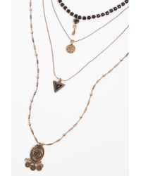 Free People - Sofia Layered Necklace - Lyst