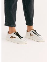 Free People - Nylite Leopard Trainer - Lyst