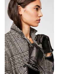Free People - Ace Studded Leather Gloves By Scotch & Soda - Lyst