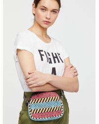 Free People - Marbella Woven Pocket Belt - Lyst