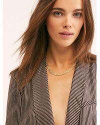 Free People - Vanessa Mooney Elliot Chain Necklace - Lyst