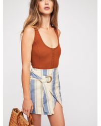 Free People - Tuscan Sunrise Skirt - Lyst