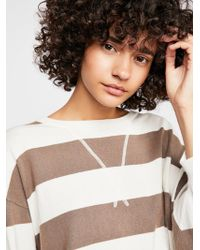 Free People - Surfin' On Your Stripes Sweater - Lyst