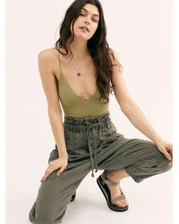 Free People - Margate Pleated Trouser - Lyst