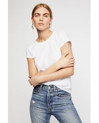 Free People - Baby Crew Neck Tee By Intimately - Lyst