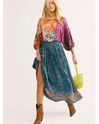 Free People - What You Want Maxi Dress - Lyst