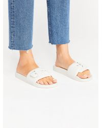 ba548476cef Free People - Dr Scholls Pool Slide Sandal - Lyst