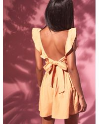 Free People | Collette Mini Dress | Lyst
