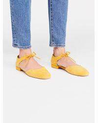 Free People - Mary Jane Flat By Seychelles - Lyst