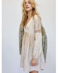 Free People - Starlight Mini Dress - Lyst