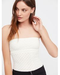 Free People | Honey Textured Tube | Lyst