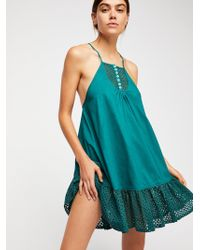 Free People - Calico Trapeze - Lyst