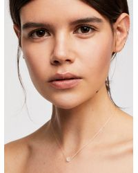 Free People - Meaningful Crystal Necklace - Lyst