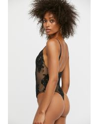 Free People - Temecula Bodysuit By For Love & Lemons - Lyst