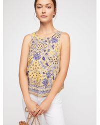Free People - Bare It All Tank Top - Lyst