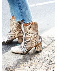 Free People | Cecile Ankle Boot | Lyst