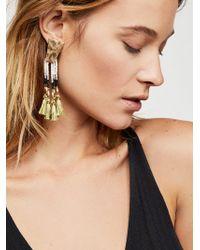 Free People - Stillwater Fringe Earrings - Lyst