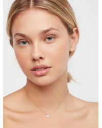 Free People   Meaningful Stone Necklace   Lyst