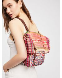 Free People - Toucan Embellished Knapsack - Lyst
