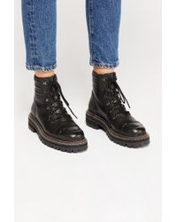 Free People - Carter Lace Up Boot By Fp Collection - Lyst