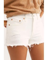 c6767f29 ASOS Reclaimed Vintage Levi 501 Shorts in Tapestry Print - Lyst