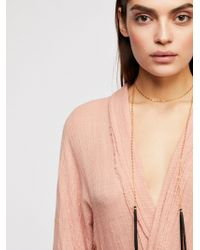 Free People - Salida Wrap Necklace - Lyst