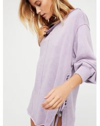 Free People - Long Beach Pullover Tunic - Lyst