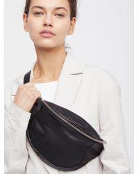 Free People - Brooklyn Leather Pocket Belt - Lyst