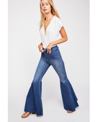 b33d18a4dcb Free People - Just Float On Flare Jeans By We The Free - Lyst