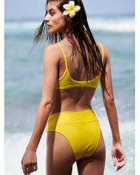 Free People - Dip Bikini Briefs - Lyst