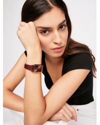 Free People - Baer Leather Watch By Breda - Lyst