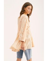 Free People - Another Special Day Tunic - Lyst