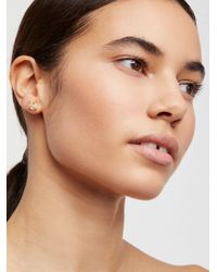 Free People - Jax Kelly Stone Studs - Lyst
