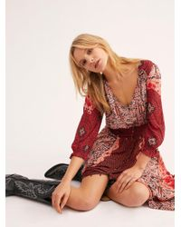 Free People - Mexicali Rose Maxi Dress - Lyst