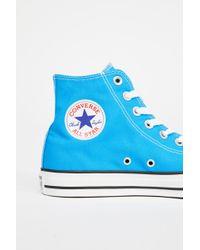 Free People - Charlie Hi Top Converse Sneaker - Lyst