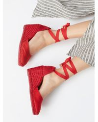 Free People - Carina Espadrille Wedge By Castaner - Lyst