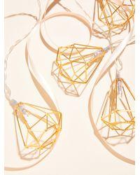 Free People | Shine On Geo Frame String Lights | Lyst
