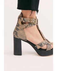 6f492d73d8 Free People - Party All Night Platform By Fp Collection - Lyst