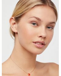 Free People - Meaningful Stone Necklace - Lyst