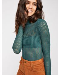 Free People - Daydream Textured Long Sleeve By Intimately - Lyst