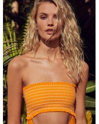 Free People - Saige One-piece Swimsuit By Ellejay - Lyst