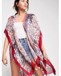 Free People - Strange Magic Patchwork Kimono - Lyst